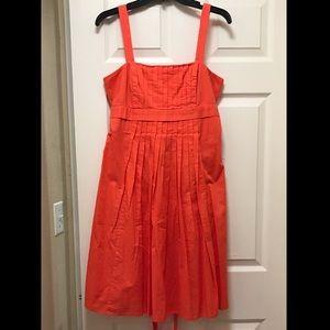 American Living Bright Orange/Red Sundress